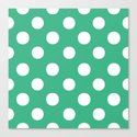 Polka Dots (White/Mint) by 10813apparel