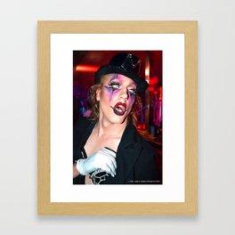 Je m'appelle Marina Mac Framed Art Print