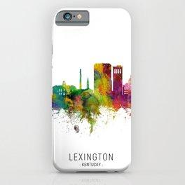 Lexington Kentucky Skyline iPhone Case