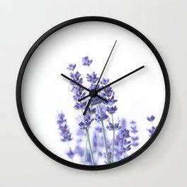 Fresh Lavender #2 #decor #art #society6 Wall Clock