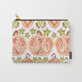 PUMPKIN SPICE Boho Watercolor Carry-All Pouch