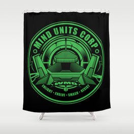 Mind Units Corp - Weapons of Mass Destruction Enlightened Version Shower Curtain