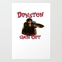Dunston Checks OUt Art Print