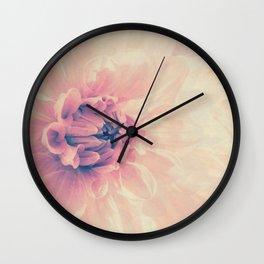 Spring Dahlia I - Her Smile Wall Clock