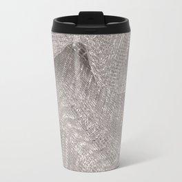 Sparkling metallic textile background Travel Mug