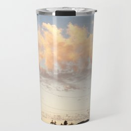 Cotton Candy Clouds Travel Mug