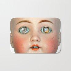 Mad-Eyed Mentalembellisher Victorian Porcelain Doll Bath Mat