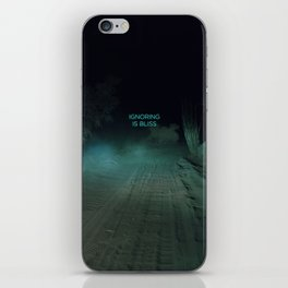 Ignoring is Bliss iPhone Skin