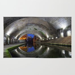 Canal Tunnel in Birmingham used as a set in the film Ready Player One Rug