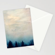 Peek-a-boo Trees Stationery Cards