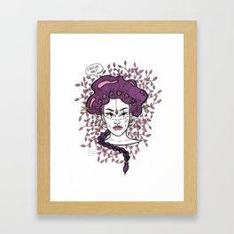Cara de Pau Framed Art Print