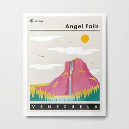 Angel Falls Venezuela Metal Print
