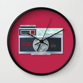 Retro Cam III Wall Clock