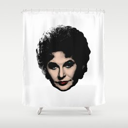 Bea Arthur - Pop Art style Shower Curtain