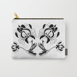 Twin Flower Carry-All Pouch