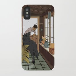 The Mudroom Wolf iPhone Case