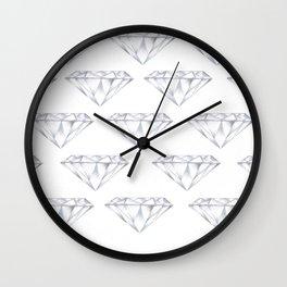 Diamond Lovin' Wall Clock