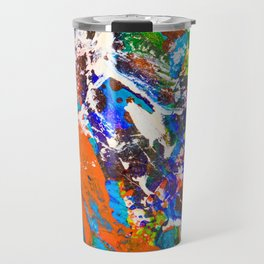 Neurons and Synapse in the Mind. Make a Memory Travel Mug