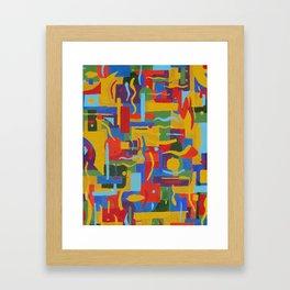 protocol Framed Art Print