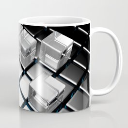 Abstract cubes pattern Coffee Mug