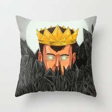The King is Under Control  Throw Pillow