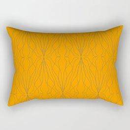 shape orange pattern Rectangular Pillow