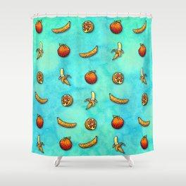 Orange Ya Glad I Didn't Say Banana? Shower Curtain