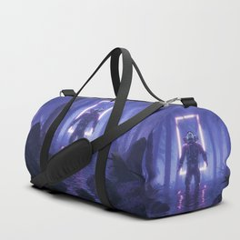 Lost In The Neon Jungle Duffle Bag