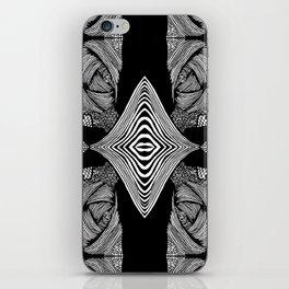 Zentangle #20 iPhone Skin