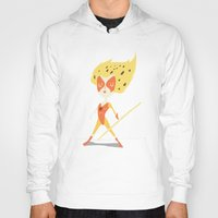 thundercats Hoodies featuring Cheetara  by Rod Perich