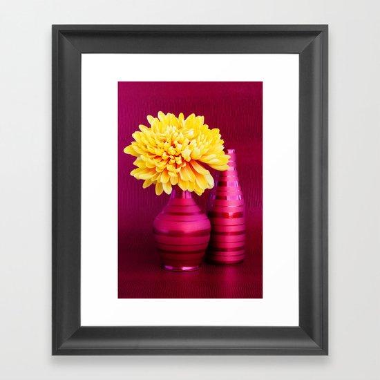 IT'S PINK Framed Art Print