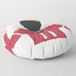 Mo Salah Egyptian King Liverpool Floor Pillow