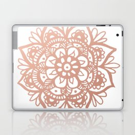 Rose Gold Mandala Laptop & iPad Skin
