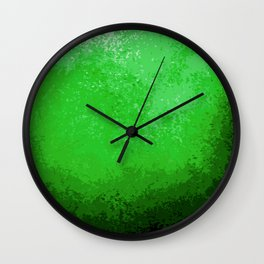 Green Light Cave Wall Clock