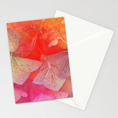 Withered hydrangea Stationery Cards