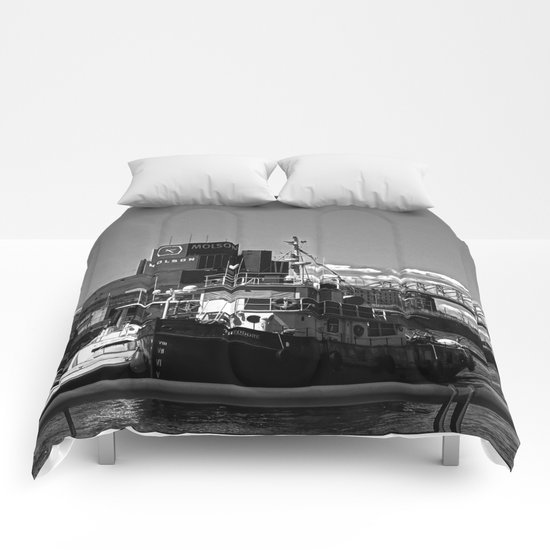 Old Port Montreal Comforters