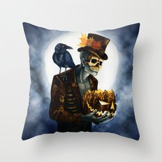 Shadow Man 4 Throw Pillow