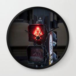 Sinalero de calle Wall Clock