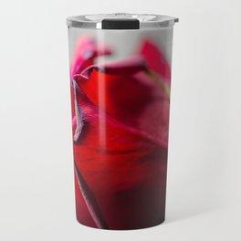 Single Red Rose, photography Travel Mug