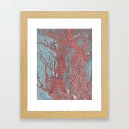 Guardians of the Enchanted Forest Framed Art Print