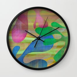Driftwood Down Wall Clock