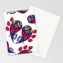 Paisley pattern #2W Stationery Cards