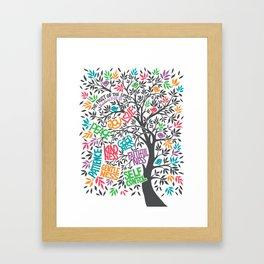 Fruit Of The Spirit (Full Color) Framed Art Print