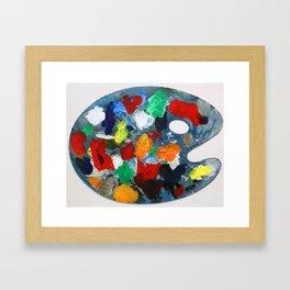 The Artist's Palette Framed Art Print