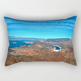 Hoover Dam Lake Mead Arizona Nevada America Rectangular Pillow