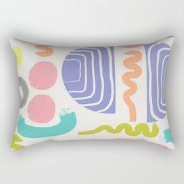 Spot the Shape Rectangular Pillow