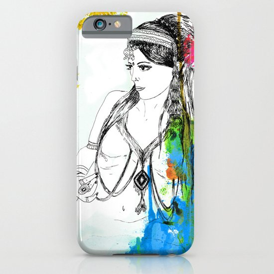 Tribal Beauty 6 iPhone & iPod Case