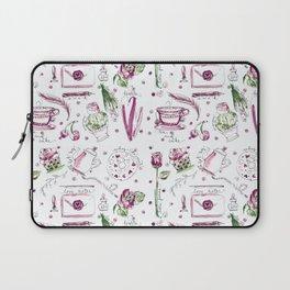 Love Note watercolor pattern Laptop Sleeve