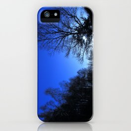 Clear Winter's Evening iPhone Case
