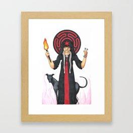 Goddess Hekate Framed Art Print